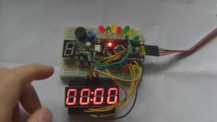玩转STM8S单片机基础版23-电子秒表