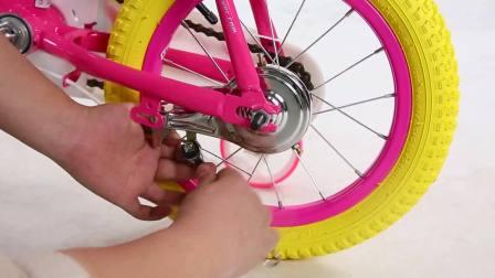 永久儿童自行车抱刹调节