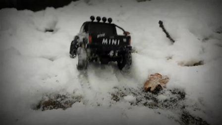 瑞泰 RGT 1-24 迷你攀爬 仿真攀爬雪地街跑