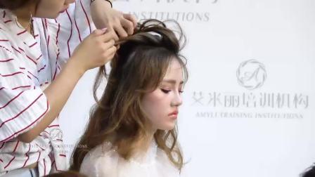 化妆视频教程视频新娘化妆复古新娘妆容教程