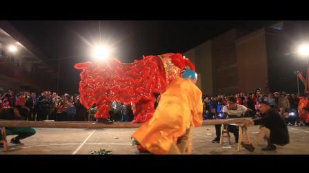 2018云朗村新春醒狮汇演2
