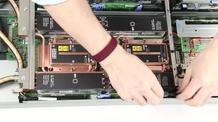 Lenovo ThinkSystem SD650 Install Drive Cage Assembly