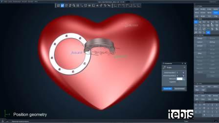 Tebis Forever 样件——展现曲面和实体的参数化设计
