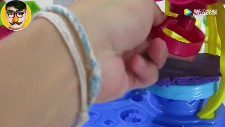 软泥DIY教你做蛋糕 小猪佩奇猪猪侠玩具 焦虑先生