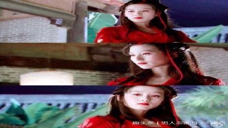 红衣最美不是女神热巴,她们才叫让人惊艳不已