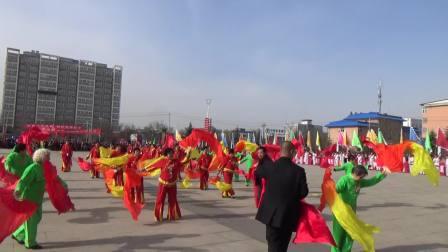 浮山县东街居委会 腰鼓《红火闹春》