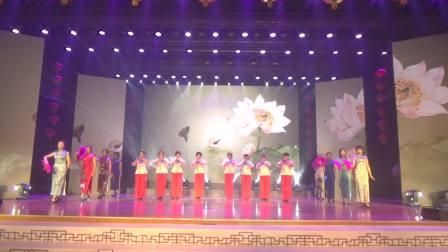 浮山尧山公园葫芦丝演艺队参加县上元宵晚会