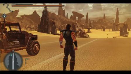 PS4《人中北斗》最新宣传片