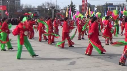 浮山西街居委会参加2018年全县社火活动演出   广场舞《欢聚一堂》
