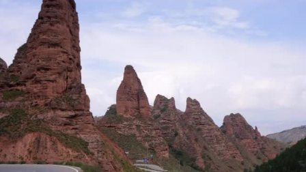 青海高原   坎布拉国家公园自然风光
