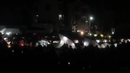 2018元宵节南京市高淳区淳溪镇长芦杨家舞龙灯2