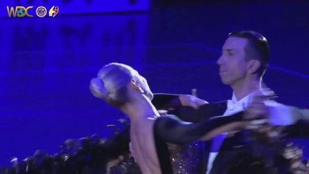 中文华尔兹《车站》英国黑池舞蹈节职业摩登舞亚军WDC表演-90后编导