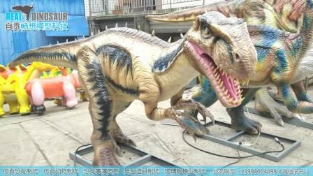 仿真始暴龙模型,逼真的仿真恐龙模型