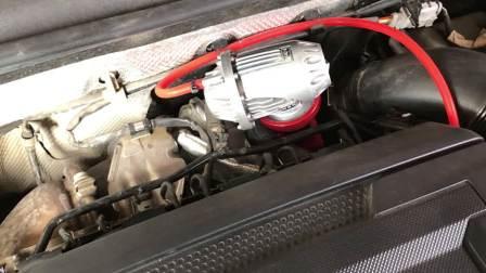 无锡SSC汽车性能改装 7代GTI升级HKS泄压阀