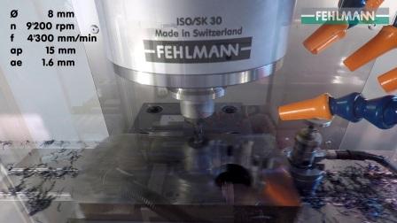 费尔曼Picomax56高精度模具加工