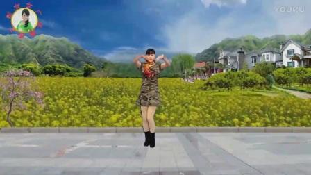 青儿广场舞鲜花开在我们的草原上佳木斯快乐舞步健身操1
