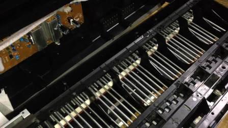 电钢琴拆机  琴键润滑   雅马哈P95拆机及键噪处理