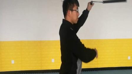 华夏双节棍网络教学第九课:颈上换手