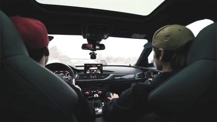 滑雪大神Jon Olsson 联手ABT 打造奥迪改装黑白双煞RS6+