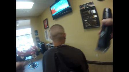 High and tight bald fade GoPro @kodythebarber