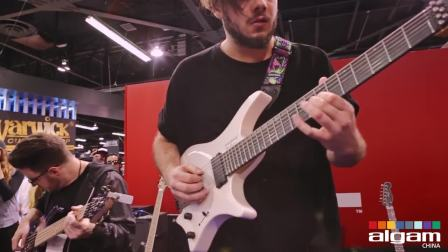 加 logo NAMM 2018 - David Maxim Micic & Simon Grove Live At The Dunlop Booth