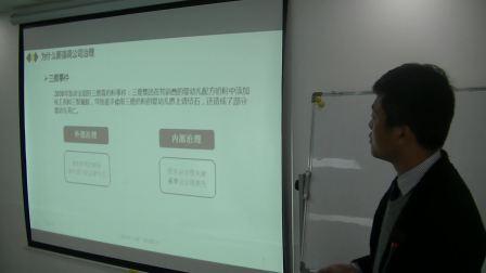 上海申浩(成都)律师事务所寒洋洋律师—公司治理基本问题培训