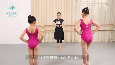 天鹅湖畔英皇芭蕾课(二): 擦地练习