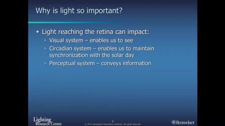 用于视觉表现的照明,老年人的昼夜健康和安全