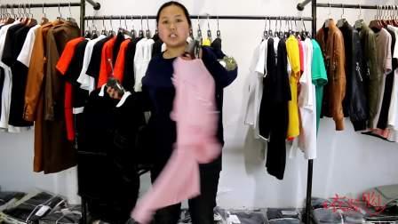 衣源购372期2018女装t恤上衣女杭州精品女装系列视频