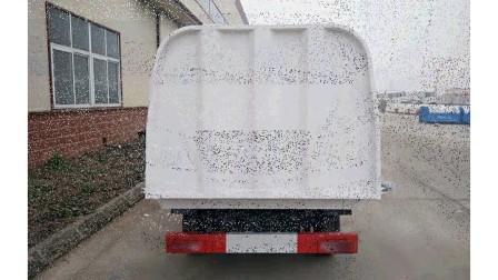 北汽昌河长安微小型密封式垃圾车视频