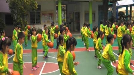 大班互动式主题早操 我的篮球梦