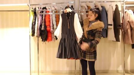 服装批发女装批发精品时尚春夏秋新款连衣裙10件起批,可零售可混批