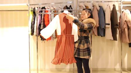 服装批发女装批发精品时尚连衣裙10件起批,可零售可混批