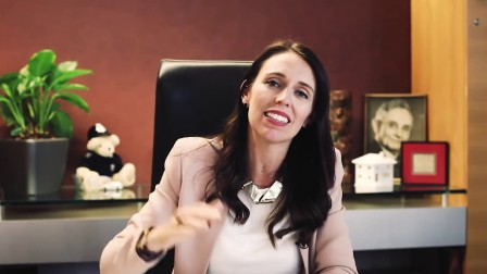 新西兰总理在2018年国际妇女节发布的视频