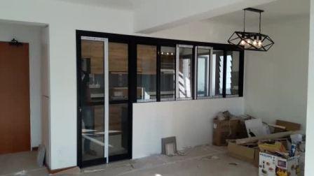 Open Concept - Kitchen Entrance - 6+2 panel