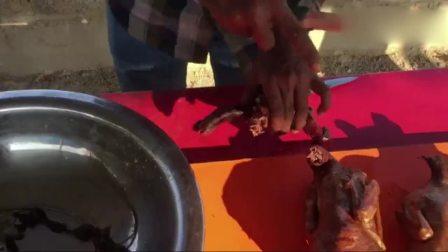 印度土豪人家, 烹饪3只鸭子, 一人吃一只过瘾!