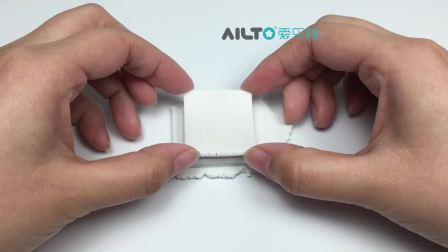 AILTO爱乐陶手工视频——雪人水晶球