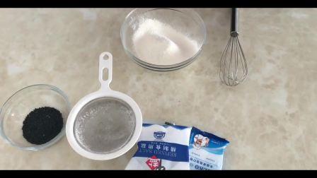 抹茶布朗尼蛋糕烘焙教程_水晶粉烘焙做法视频教程_芝士蛋糕教程