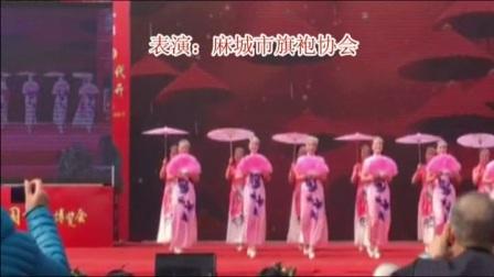 麻城茶花节旗袍秀《春之韵》