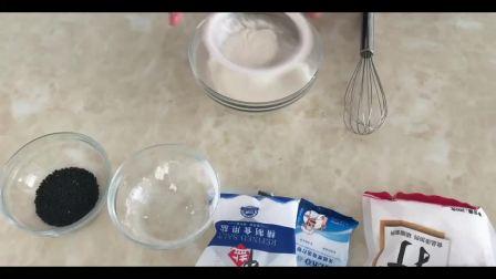 烘焙教程网站_上海烘焙展视频教程_要不给他做个草莓巧克力漩涡蛋糕烘焙蛋糕