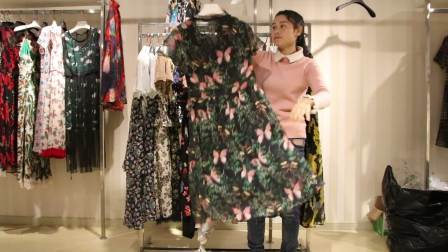 精品女装批发服装批发时尚精品夏款连衣裙走份30件一份,可挑款零售混批