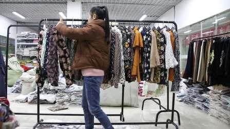 精品女装批发服装批发时尚春秋款长袖小衫走份30件一份,可挑款零售混批