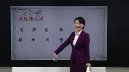 23最新人教版二年级语文下册第9课《枫树上的喜鹊》(第一课时)同步教学视频
