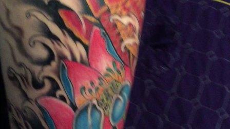 花腿纹身,阿丰纹身爱你们