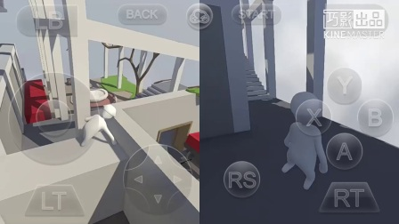 【大吉粑粑&芝傲菌】手机上玩《人类一败涂地》?!两个智障的互坑之旅~