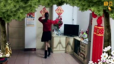 桂林香妹广场舞水兵舞背面巜桃花姑娘》编舞:铜川花
