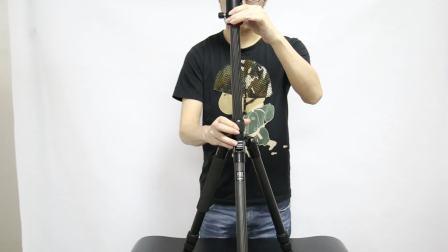 劲捷M2208碳纤维三脚架单反微单摄影支架 相机支架