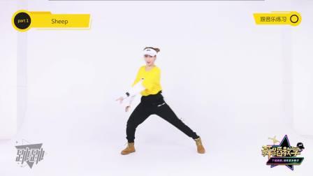 【跳跳舞蹈教学】第三季VOL.8:张艺兴《SHEEP》全网最详细镜面板舞蹈教学