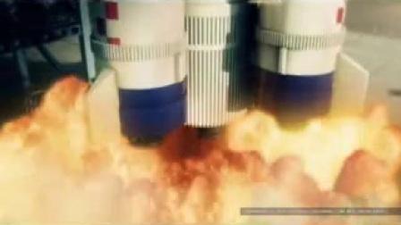 A502火箭升空高清实拍视频素材_标清