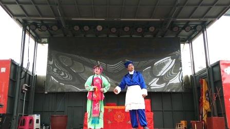 2017年江陵县福利院退伍军人慰问演出,楚剧:《王大娘补缸》
